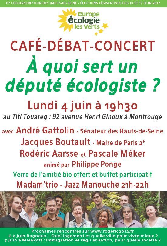 A quoi sert un d put cologiste caf d bat concert montrouge lundi 4 juin 19h30 montrouge - A quoi sert le marc de cafe ...
